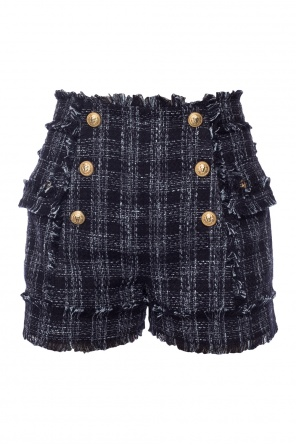 Shorts with fringes od Balmain