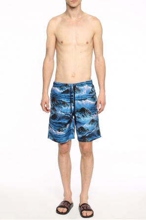 Patterned swim trunks od Givenchy
