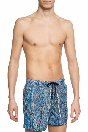 Paisley-printed swimming shorts od Etro