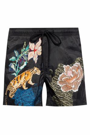 Floral-printed swimming shorts od Etro