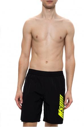 Logo shorts od MSGM