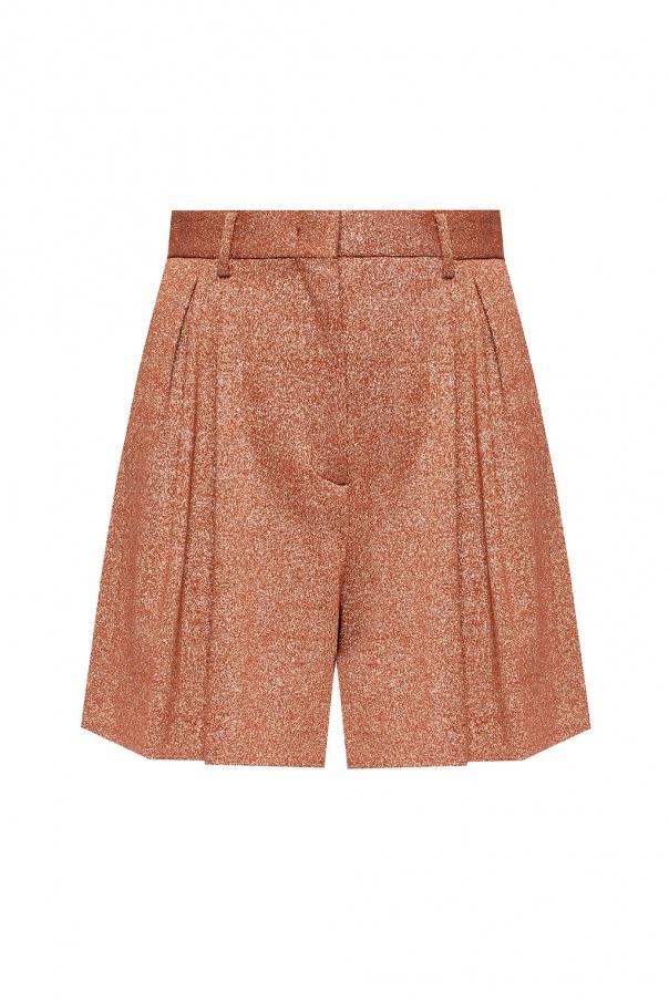 M Missoni Pleated shorts