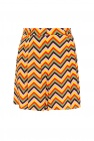 M Missoni Pleated shorts