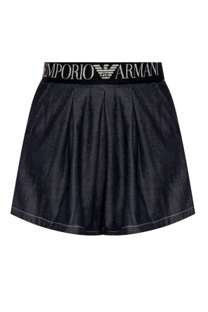 Decorative waistband shorts od Emporio Armani