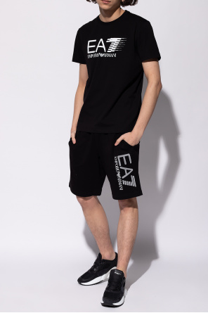 Shorts with logo od EA7 Emporio Armani