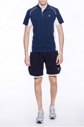 Patched sweat shorts od Emporio Armani