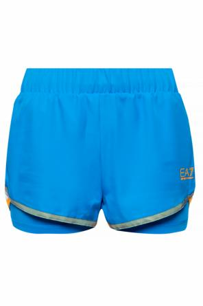 Two-layered logo shorts od EA7 Emporio Armani
