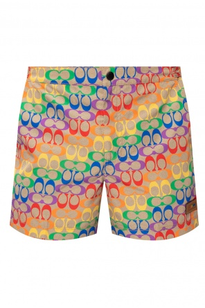 Patterned shorts with logo od Coach