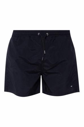 Patched swimming shorts od McQ Alexander McQueen