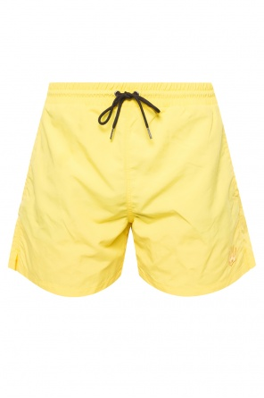 Embroidered swim shorts od McQ Alexander McQueen