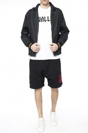 Patched sweat shorts od McQ Alexander McQueen