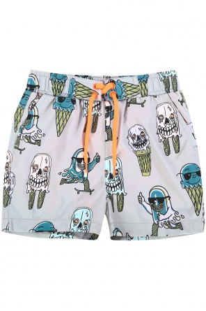 Printed swim shorts od Stella McCartney Kids