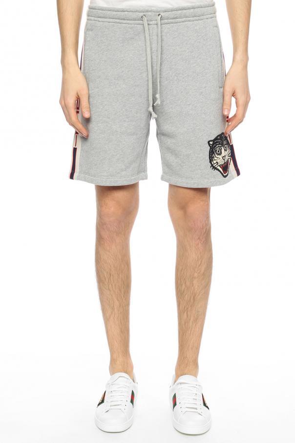 Side-stripe sweat shorts Gucci - Vitkac shop online 83ae5975a26f