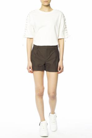 Cuffed hem shorts od Saint Laurent