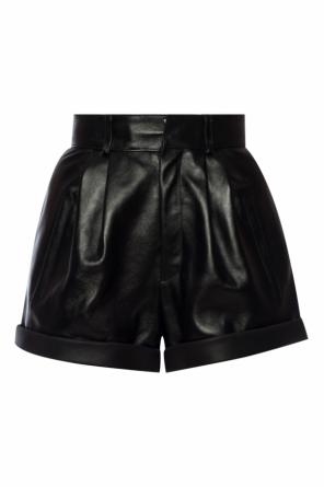 Shorts with turn-up  cuffs od Saint Laurent