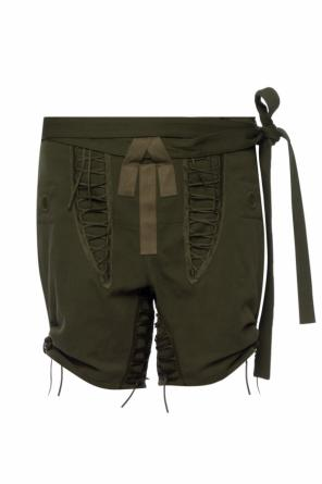 Military shorts od Saint Laurent