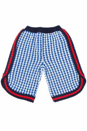 Knitted shorts od Gucci Kids