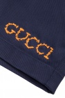 Gucci Kids Shorts with embroidered logo