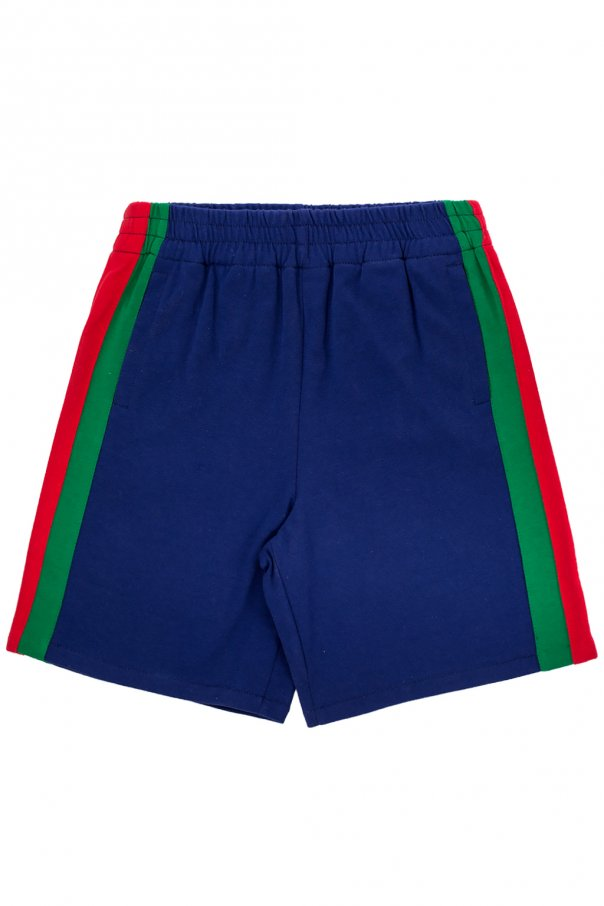 'web' sweat shorts od Gucci Kids