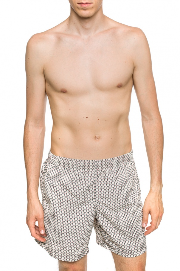 Alexander McQueen Kąpielówki z motywem czaszki 6uU5qFAd