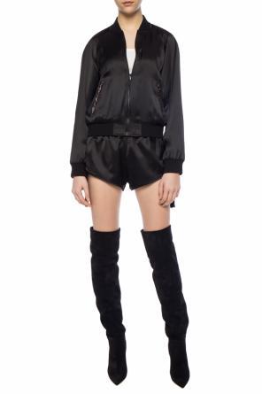 0df48eafdc4 Patched shorts od Saint Laurent ...