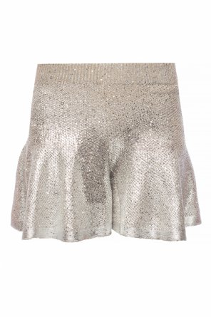 Sequined shorts od Alexander McQueen