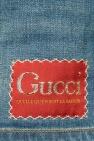 Gucci Denim shorts with logo