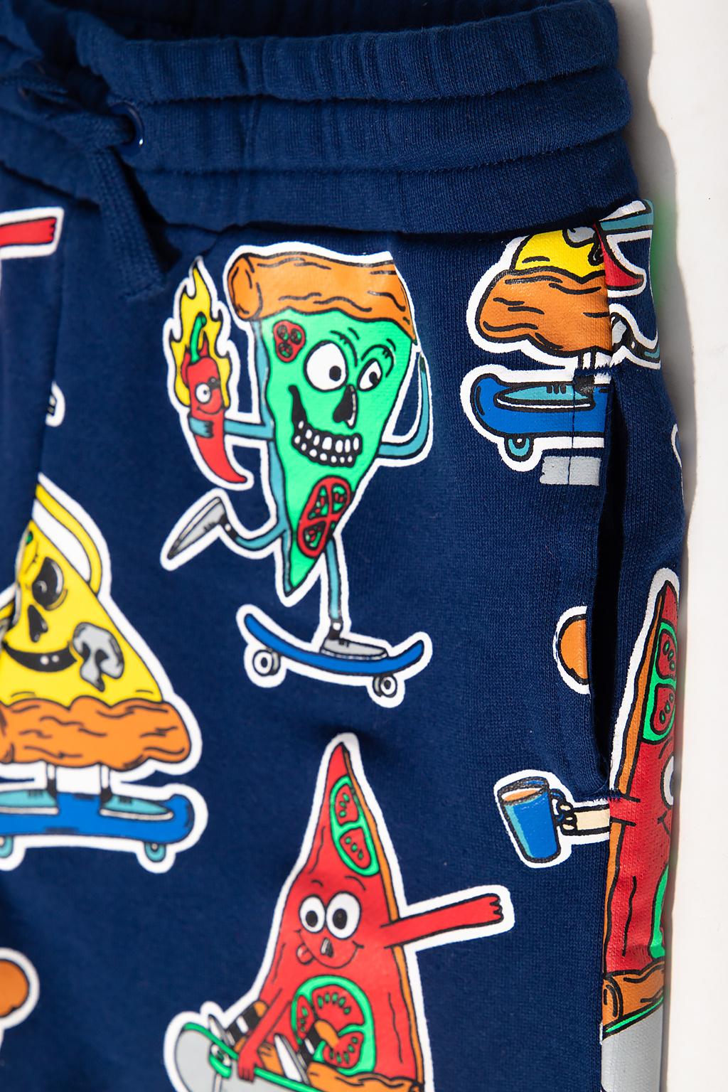 Stella McCartney Kids Printed shorts
