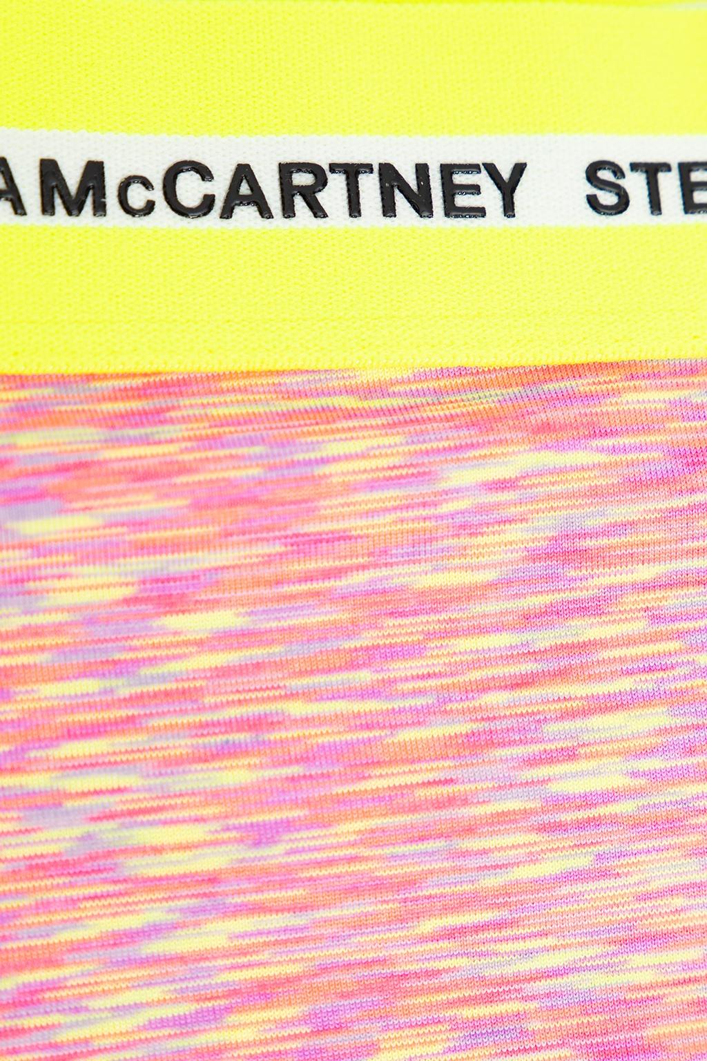 Stella McCartney Kids Szorty z logo