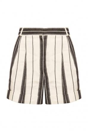 High-waisted shorts od Alexander McQueen