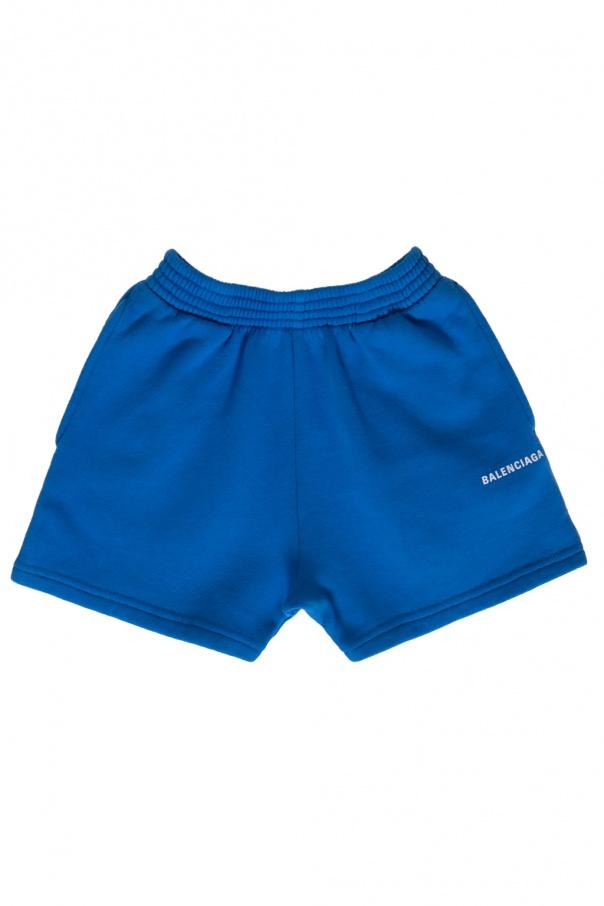 Balenciaga Kids Sweat shorts with logo