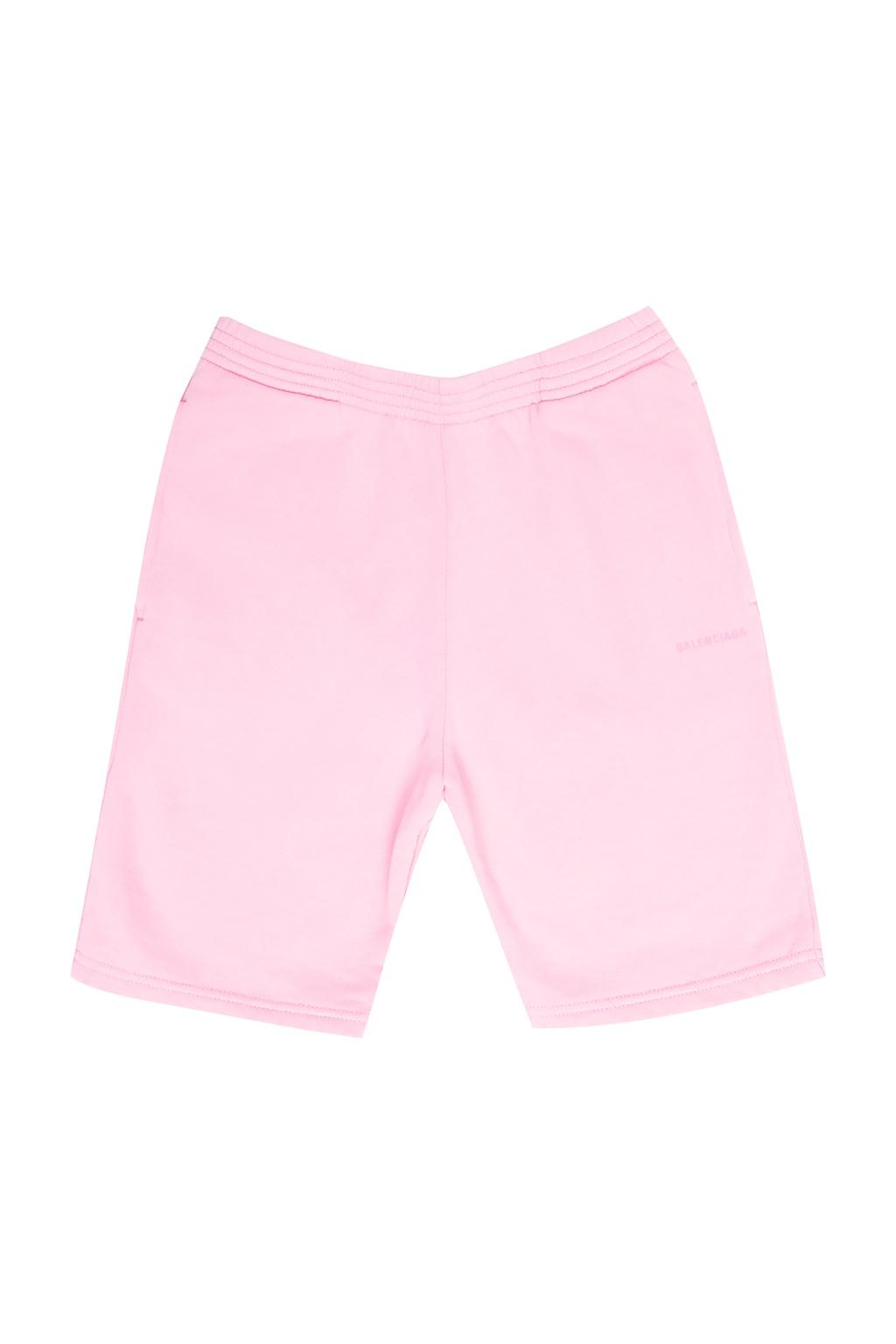Balenciaga Kids Shorts with logo