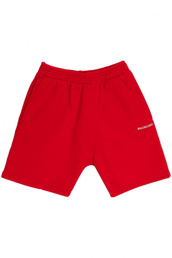 Balenciaga Kids Logo sweat shorts
