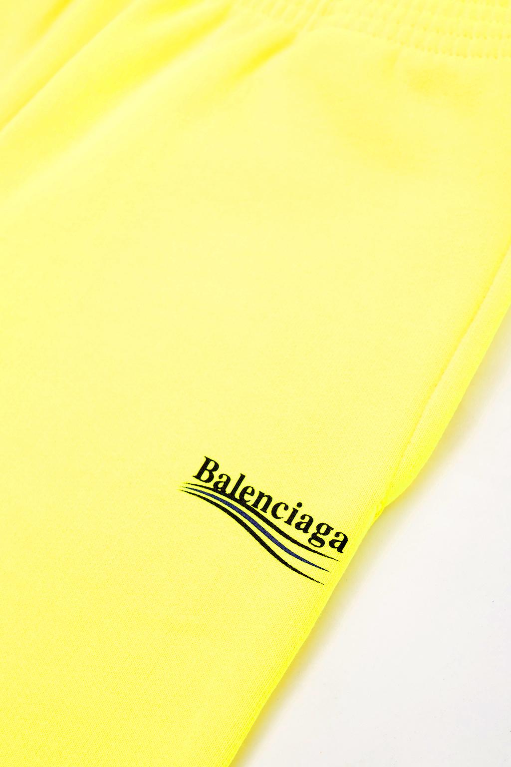 Balenciaga Kids Szorty z logo
