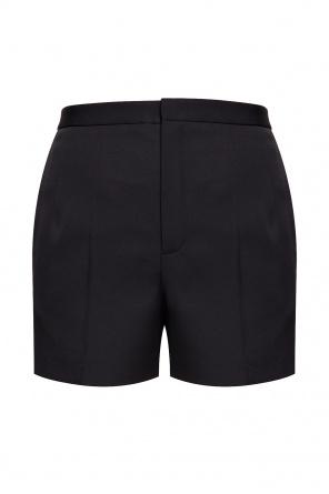 High-waist shorts od Saint Laurent