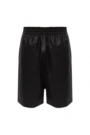 Leather shorts od Bottega Veneta