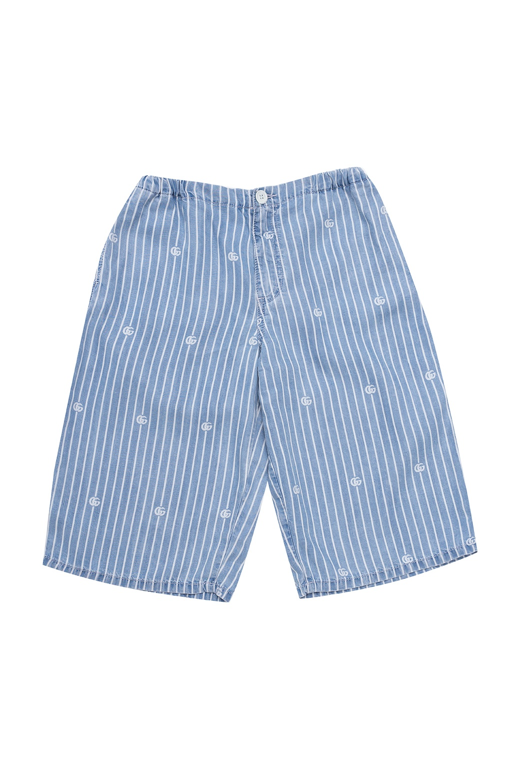 Gucci Kids 品牌短裤