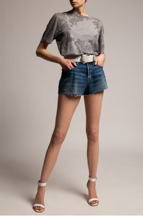Denim shorts od Saint Laurent