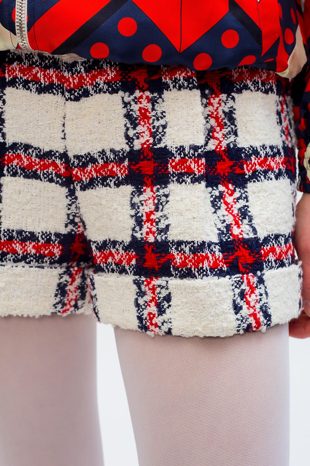 Gucci Tweed shorts