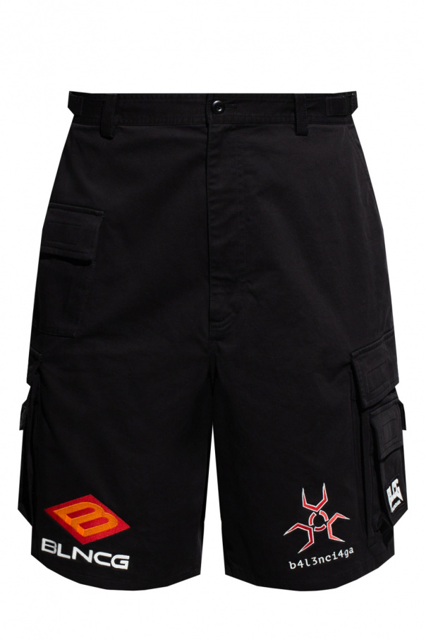 Balenciaga Shorts with logo