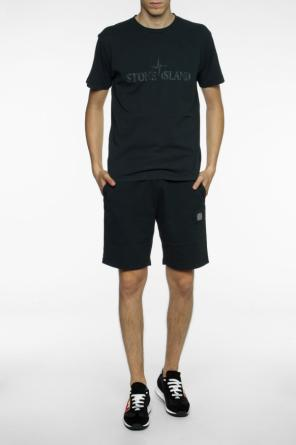 Logo sweat shorts od Stone Island