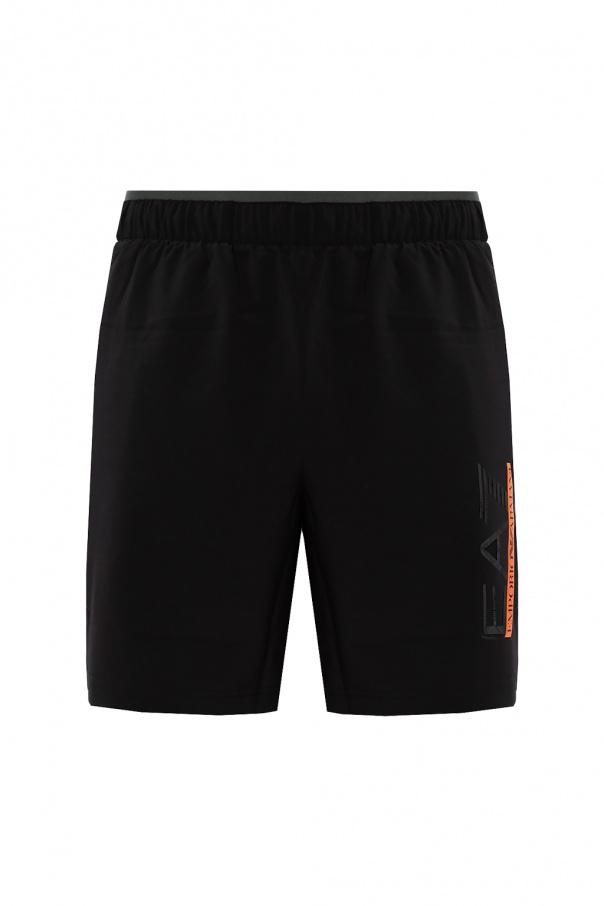EA7 Emporio Armani Shorts with logo