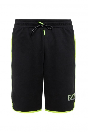 Training shorts with logo od EA7 Emporio Armani