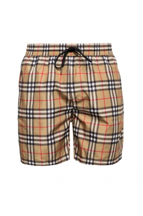 Checked swimming shorts od Burberry