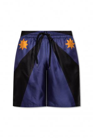 Silk shorts od Burberry