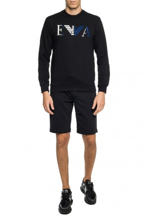 Branded sweat shorts od Emporio Armani