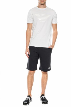 Sweat shorts with logo od EA7 Emporio Armani