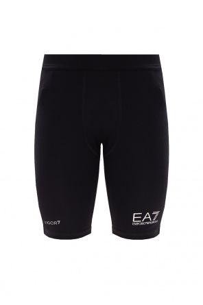Shorts with logo od EA7 Emporio Armani