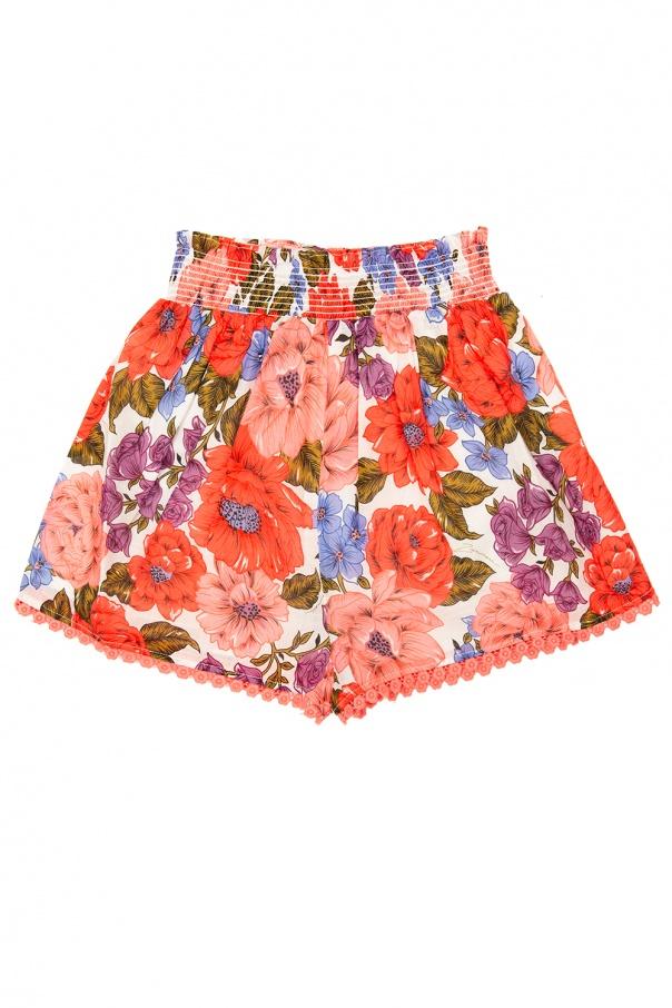 Zimmermann Kids Patterned shorts