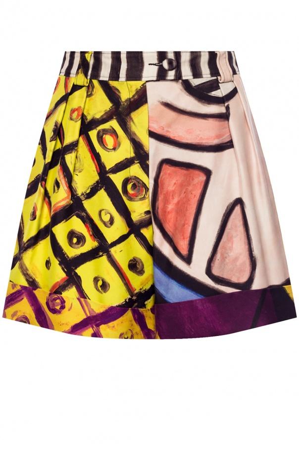 Moschino Patterned shorts